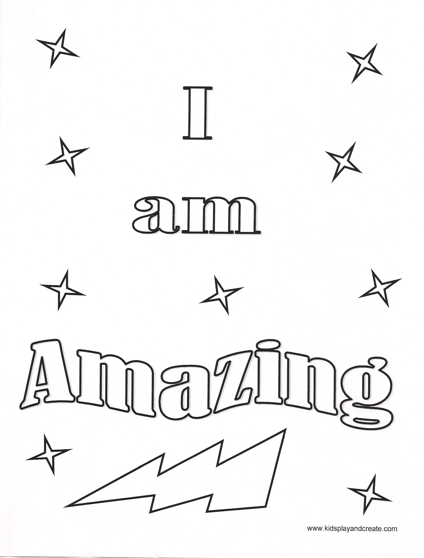 The Affirmations Coloring Book : Positive affirmations printable coloring sheets pages