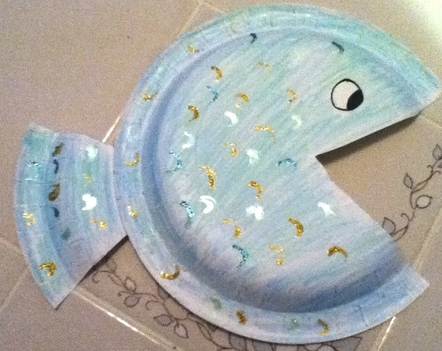 Easy Paper Plate Fish Craft Project For Kids