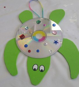 Fun Kids Crafts With Old Cd S And Cases Kids Play And Create