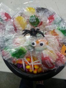 Halloween lollipop display