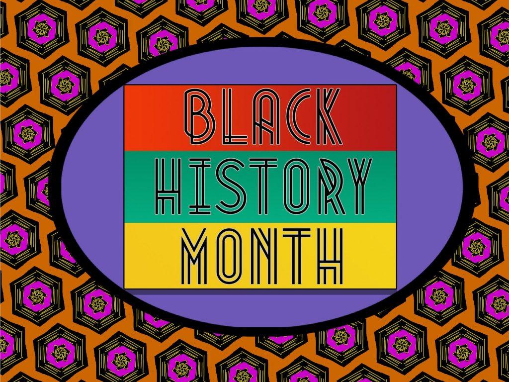 Black History Month Sign