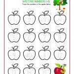 Apple Number Tracing