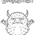 boogeyman coloring page